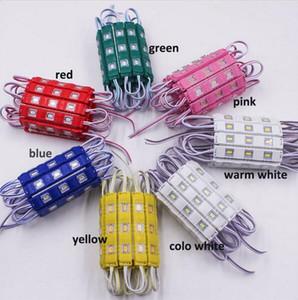 방수 5730 3LEDs 사출 성형 LED 모듈 슈퍼 밝은 led 모듈 레드 / 그린 / 블루 / 옐로우 / 핑크 / 웜