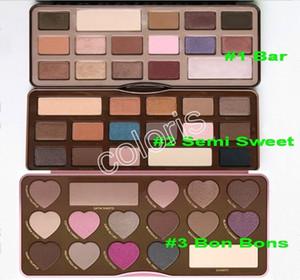 Palette di ombretti per trucco Palette di cioccolato Colori Paletta di ombretti per 16 colori Paletta di semi dolci Bon Bons invia per ePacket