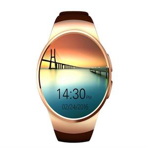 Умные часы KW18 смарт-часы совместимость для iOS и Android системы роскошные часы сердечного ритма синхронизации Wristwatchfree носимых смарт-часы