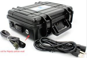Majesteleri elektronik tırnak sıcaklık kontrol kutusu DAB çivi Majesty kangal ısıtıcı bobin 120V 120W ABD için ısıtıcı 5pin XLR fiş ısıtıcı bobin.