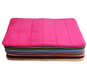 Wholesale 40x60cm Bath Mat Bathroom Bedroom Mats Memory Foam Rug Shower Carpet for Bathroom Kitchen Bedroom