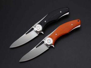 NEWER recemend Гэмблеры D2 нож 2 modles (оранжевый, черный) 58-60HRC TC4 Titanium складной нож 1шт бесплатная доставка