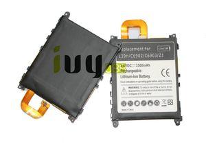 5pcs / lot 3300mAh LIS1525ERPC batería de repuesto para Z1 L39H L39T L39U C6902 C6903 C6906 C6916 C6943 baterías Batteria Batterie Batterij