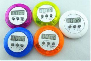 novelty digital kitchen timer Kitchen helper Mini Digital LCD Kitchen Count Down Clip Timer Alarm fast shipping