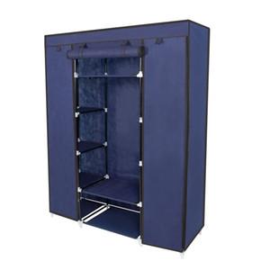 """67"""" toilettes mobiles de rangement Organisateur Armoire portemanteau avec des étagères"""