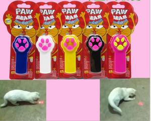 IPAW 광선 고양이 장난감 개 레이저 포인터 장난감 고양이 훈련 장난감 레이저 고양이 지팡이 재미 있은 애완 동물 공급 (건전지를 포함하지 말라)