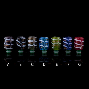 Colorful Vaporizer Drip Tip Drip Tips For TFV8 Atomizer Tank Cloud Beast Tank Full Kit Kooper Primus 300W Mods 510 Mouthpiece