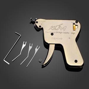 Hohe Qualität KLOM multifunktionale manuelle Sperre Pick Gun entsperren Tool Set Schlosser Werkzeug White Paper Box