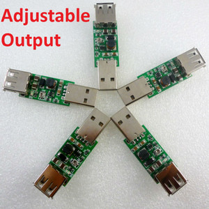 5x 7W USB zu USB 5V 9V 12V 15V Inverter Step Up-Boost-DC DC-Wandler USV-Module für LED Moter rf Controller Solar-Ladegerät