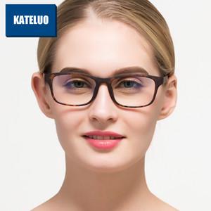 Großhandels-TR90 Anti-Computer-blaue Laser-Ermüdung Strahlenresistente Brillen-Schutzbrillen-Glasrahmen Oculos de grau 9219