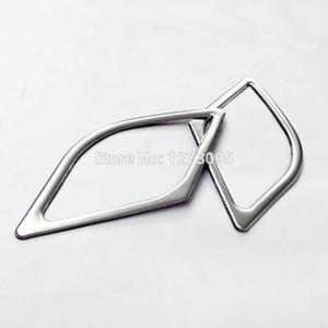 Para 2015 Hyundai Tucson puerta de acero inoxidable altavoz estéreo anillo cubierta decoración ajuste car car styling accesorios