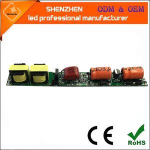 AC220V 50 / 60Hz 240mA DC35-80V 9W 18W Triac T5 Dimmable T8 T10 Tube tube conducteur LED d'alimentation d'éclairage Transformateurs électroniques