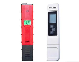 Digital TDS EC Testador de Luz de Fundo 0.01 PH Medidor de ATC Condutividade Água Caneta Monitor de Qualidade Da Água do Aquário