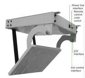 Дистанционный 32,42,46,55,60 дюймов 3D ЖК-телевизор потолок лифт вешалка электрический подлинный токарь