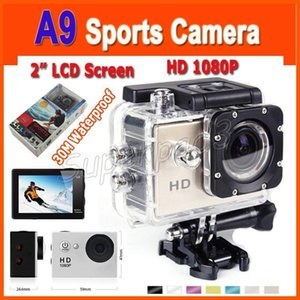 EKEN A9 1080P HD Action Camera 2'' 30M Waterproof Mini Action Outdoor Sports Cam 1920*1080 120° Lens Action Sport Video Camera Diving