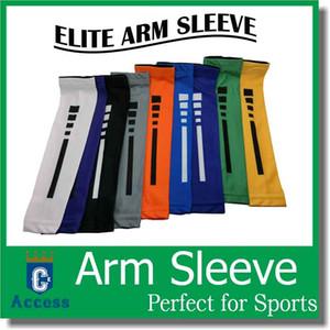 Mangas de braço de compressão de esportes Basquete Baseball Baseball Shooter Elite Camo