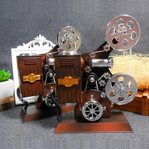 Projecteur créatif Boîte à musique Boîtes à bijoux Vintage Grande boîte à musique Maison Carrousel Manivelle Boîte à musique Mécanisme Cadeaux D'anniversaire