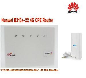 HUAWEI B315 B315S-22 LTE CPE 150 Mbps (più antenna) 4G LTE FDD TDD router wireless con gateway per scheda SIM