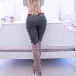Italienische Pfirsich Hüfte Enge Haut Sporthose Elastische Schönheitshose Hüfte Bewegung Hose Yogahose Lederhose