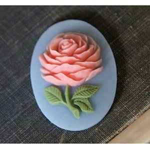 D1021 rose silicone mold flower Cake decoration tool cake mould