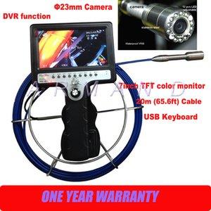 يده الأنابيب استنزاف التفتيش كاميرا 8GB بطاقة SD 710DNK-SCJ تحت الأرض التفتيش الأنابيب المنظار الصناعي وظيفة DVR