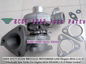 High Quality TD04 49177-01504 MR355222 4917701504 49177 01504 Turbine Turbo Turbocharger For MITSUBISHI L200 Shogun 4D56 PB DOM 2.5L Water C