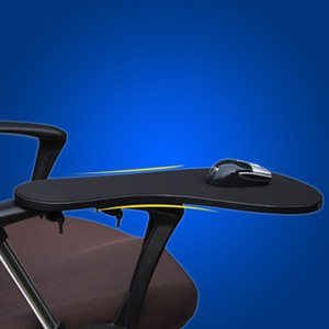 Chair Arm Rest Mouse Pad Wrist Support 480*230mm Elbow Rest With Non-slip Mat