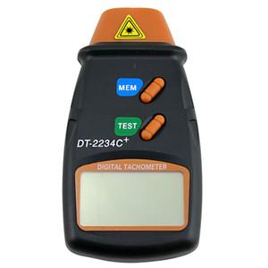 Toptan-Temassız Lazer Fotoelektrik Dijital Takometre DT2234C + Hız Ölçüm Cihazı