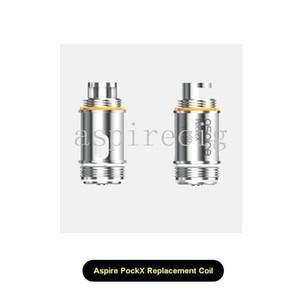 PockeX bobin değiştirme aspire 0.6ohm SS316L paslanmaz çelik 1.2ohm U-Tech bobin PockeX cep AIO kiti için uygun 18-23 watt 100% Orijinal