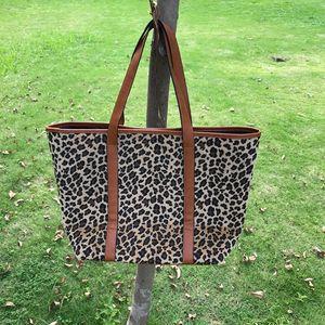 Cheetah Handles Blanks Handbag Fashion Fur)Wholesale Tote With Women Faux Bag Leather (short DOM103664 Leopard PU Ungot