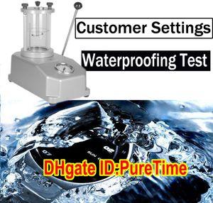 Водонепроницаемый тест на заказ Усилить плавательный водонепроницаемый OEM ODM Часы PureTime Watch Водонепроницаемый Сервисы Ссылка