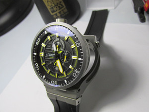 новинка съемные часы гонки спорт хронограф работает негабаритных 47 мм мужские наручные часы кварцевые карманные часы