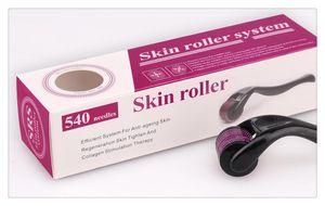SkinCar Ferramenta MNR 540 Micro Agulhas Derma Sistema De Rolamento Micro Agulha Rolo De Pele Dermatologia Terapia Sistema de Saúde Beleza Equipamentos Livre DHL