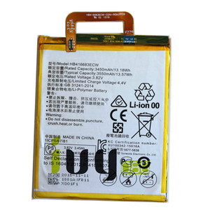 Originale 3550mAh HB416683ECW Batteria di ricambio per Huawei Google Ascend Nexus 6P H1511 Batteria H1512 Batteria Batterij