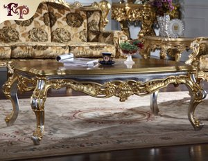 Antique furniture manufacturer-French classic coffee table - Italian classic coffee table