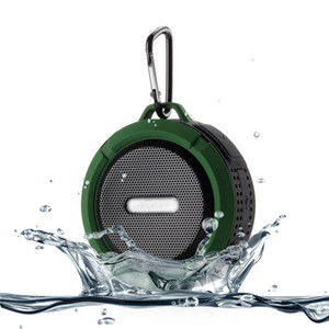 C6 Speaker Bluetooth Speaker Wireless Potable Audio Player Waterproof Speaker Hook And Suction Cup Stereo Music Player With Retail Package