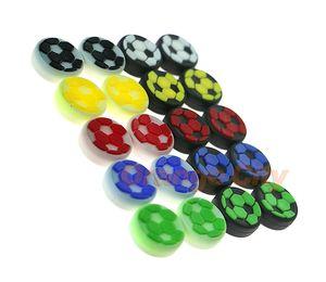 PS4 PS3 Xbox360 Xbox biri Kontrolör Oyun Aksesuarı İçin Yüksek Kaliteli futbol takımı Silikon renkli Cap Thumb Çubuk Joystick Tutma