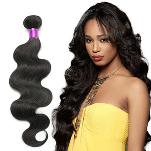 Brazilian Body Wave Hair Weaves 8A Best Quality Virigin Human Hair Extensions Peruvian Malaysian Indian Cambodian Brazilian Human Hair Weave