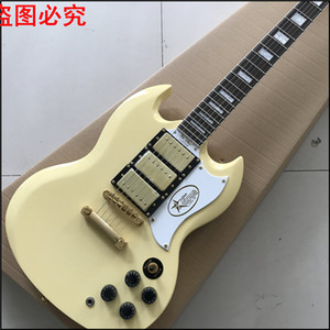 2017 Rushed 22 Maple Ukelele Musical Instruments Acquista Guitar G Sg Custom Electric Un pezzo di legno del collo, latte Foto reali