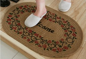 Retailer Sisal Carpets Tiles Floorcloth Floor Pad Matting Cover Area Rugs Doormat with Factory Directly Supply