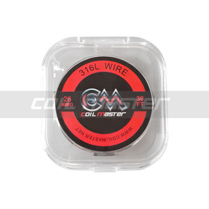 100% Original Coil Master SS316L Wire 30FT 22 24 26 28 30 AWG Top Quality Wire for Vape RDA Coil Rebuilding