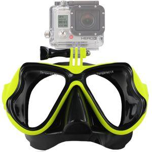 Buceo Máscara Goggles Natación Buceo Antibalas Recubierto Vidrio templado 100% a prueba de fugas Diseño GoPro Hero Water Sport