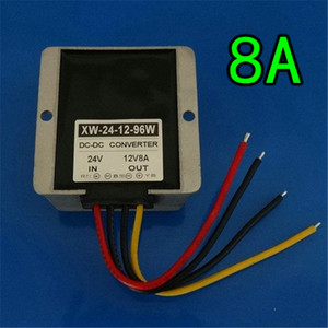 Inverter a tenuta stagna antiurto 12V per riduttore DCDC Step Down Converter 36V48V a 12V 20A regolatore per apparecchiature digitali GNED040