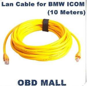 2016 buena calidad Lan Cable para BMW ICOM (10 metros) para BMW Car ICOM Diagnose conector para BMW ICOM Lan cable