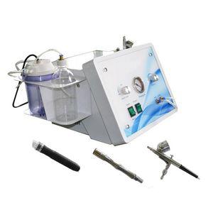 3 en 1 eau dermabrasion hydro dermabrasion diamant dermabrasion oxygène jet de pulvérisation Peeling aspiration super- oxygène machinewith approbation CE