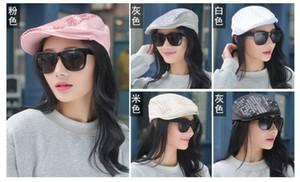 shippping gratuit 1 chapeau de béret à capuchon Lady Lady Fashion Summer Summer