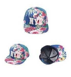 2016 Men and Women's Sports Hat Hip Hop Caps Girl's Sunshine Hats Outdoor Snapbacks Printing Flowers 3 PCS   Lot Drop Shipping