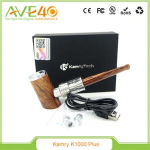 정통 Kamry K1000 플러스 기화기 키트 E 파이프 모드 키트 1100mah 1-35W 배터리 4.0ml 아토 마이저 거대한 기화기 키트 DHL 무료 배송