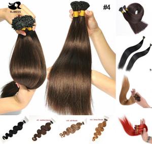 Grado 8A - Fusión de queratina en caliente, precio de fábrica del cabello, dobles puntas gruesas, punta en las extensiones de cabello, 0.8 g / s200s / lote, sin DHL