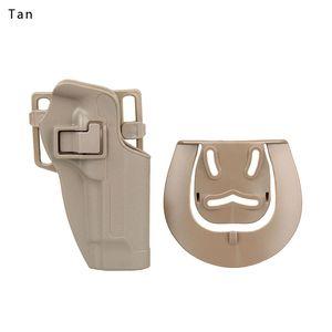 Новое Прибытие Тактический M92 Holster M95 Держатель без платформы Black Tan Color Airsoft Accessory CL7-0006
